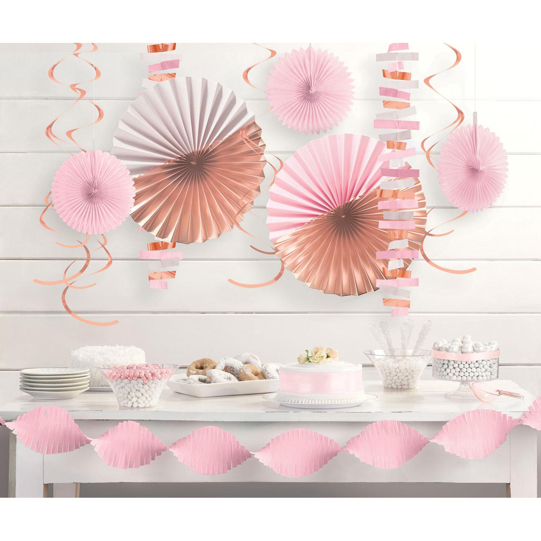 Kit décoration papier rose gold
