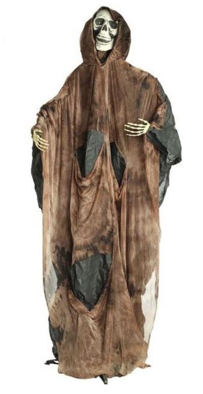Décor squelette luminuex sur pied 183 cm
