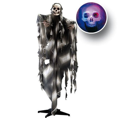 Squelette Sur Pied Lumineux 160Cm