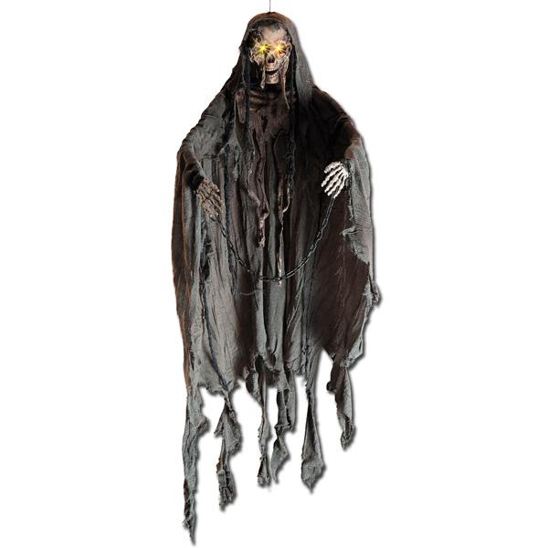 Suspension Halloween squelette lumineuse