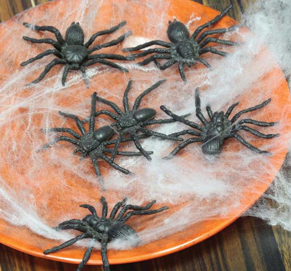 12 araignées 5 cm