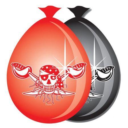 8 Ballons Pirates