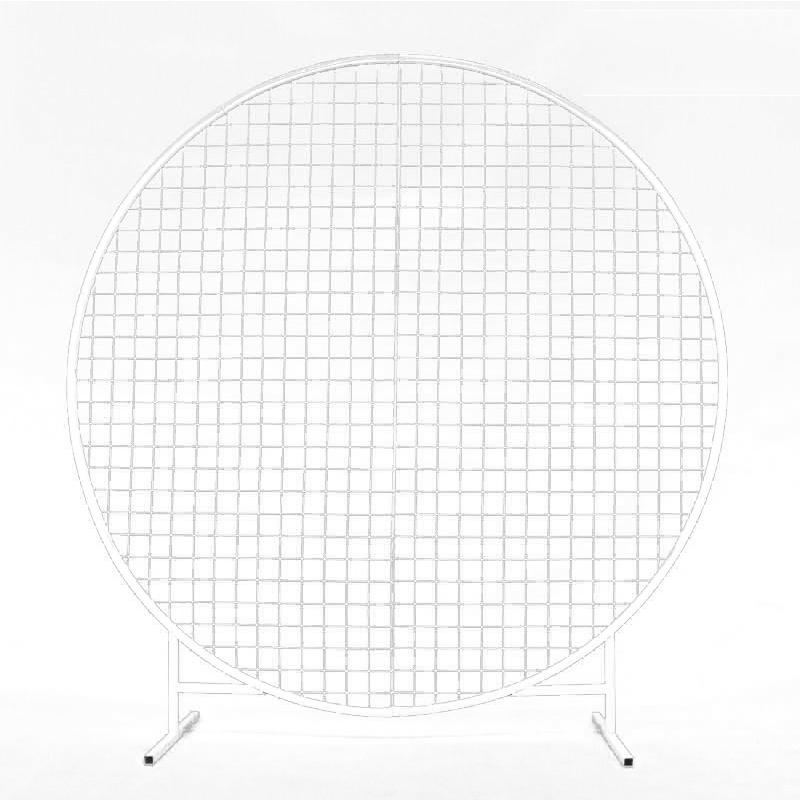 arche ronde 2m avec grille en location