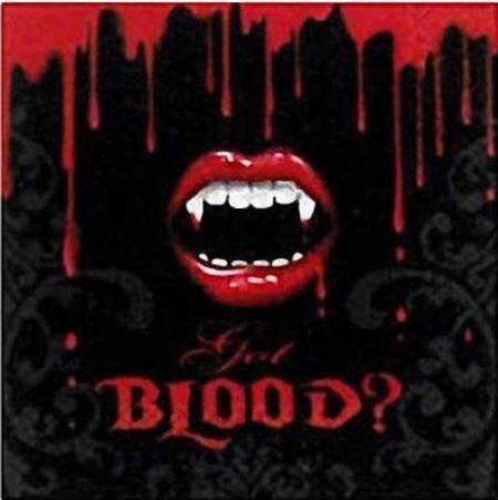 16 Serviettes Jetables Thème Vampire