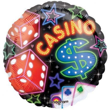 Ballon Aluminium Casino