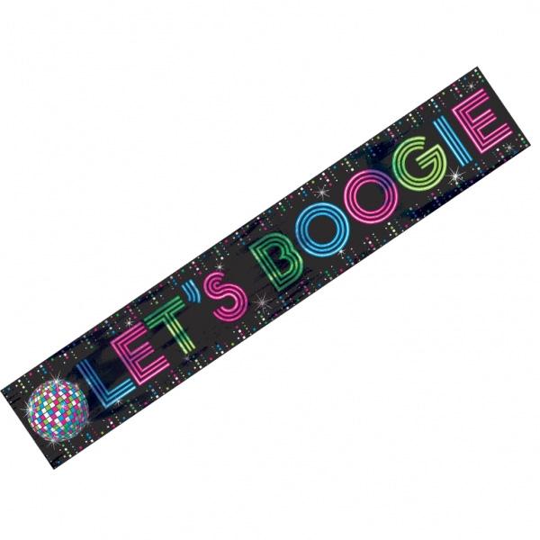 Bannière disco