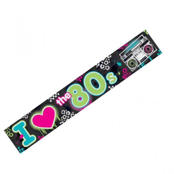 Bannière I Love Disco 760 cm
