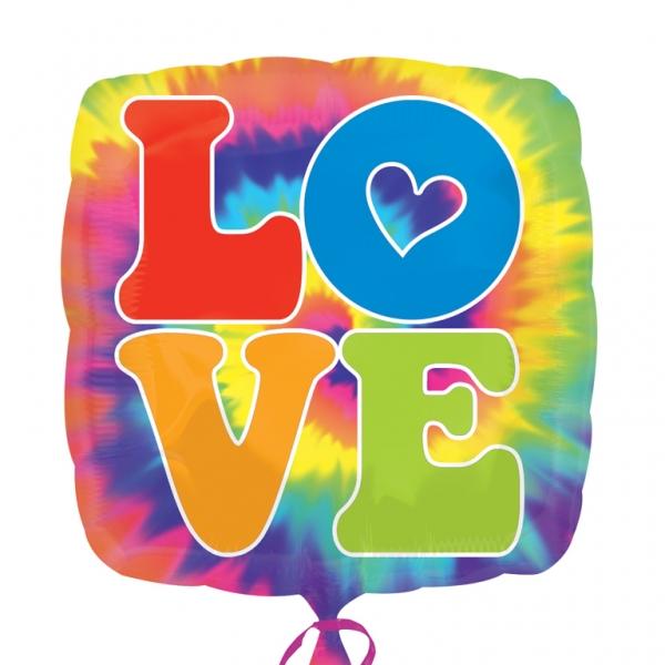 Ballon Mylar Peace and Love
