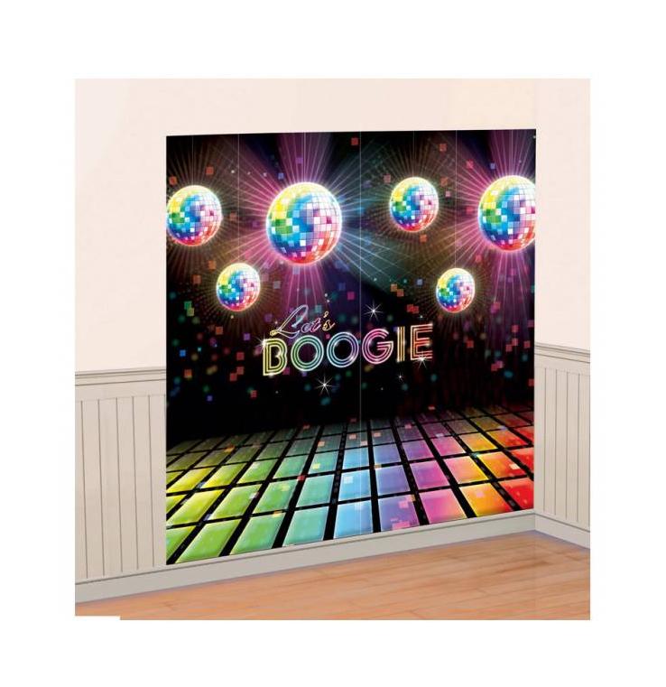 Décoration murale disco