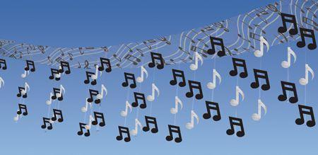 Guirlande Notes de Musique