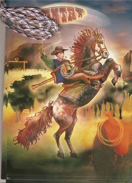 Guirlande Fanions Western