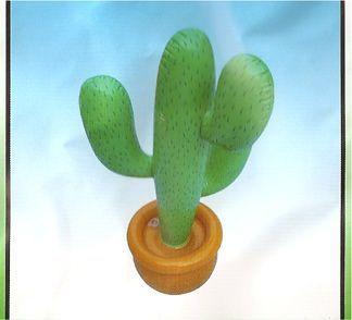 Cactus Plastique Gonflable