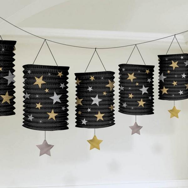 Guirlande lanternes étoiles