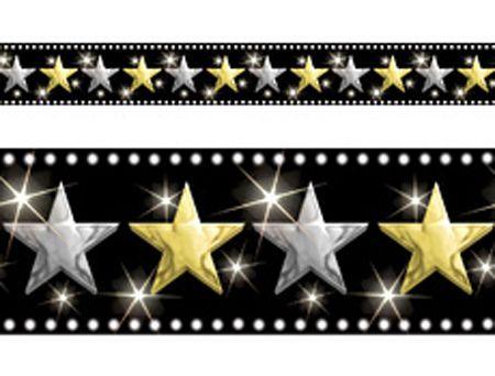Scène Bordure Étoiles