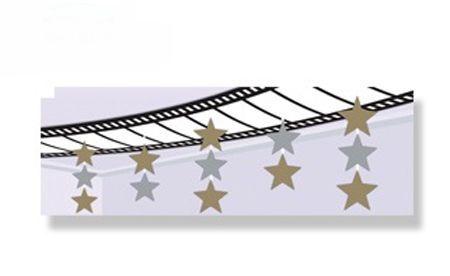 Décoration de Plafond Thème Cinéma