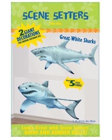 Scènes Décoratives Requins