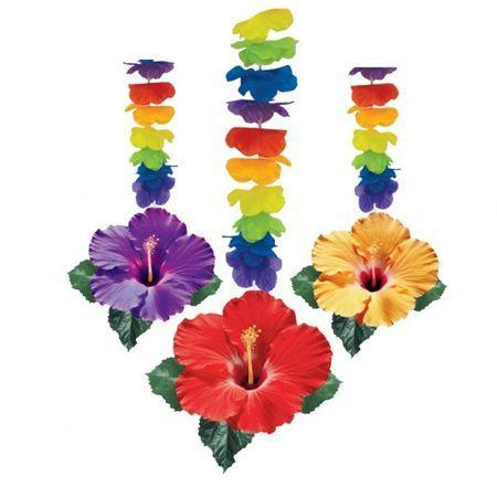 3 Suspensions Thème Hawaï