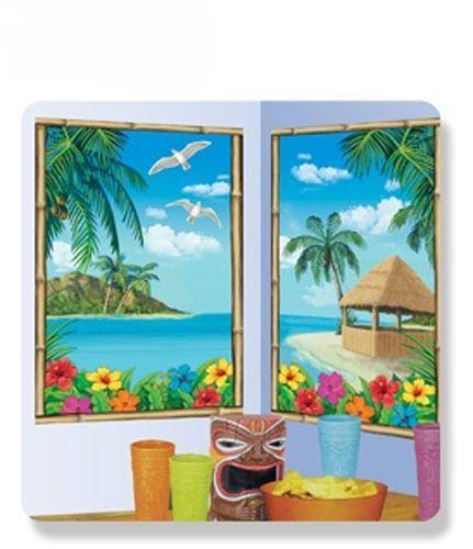 2 Décorations Murales Hawaï