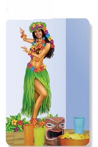 Décoration Murale Danseuse Hawaienne
