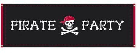Bannière Géante Pirate Party