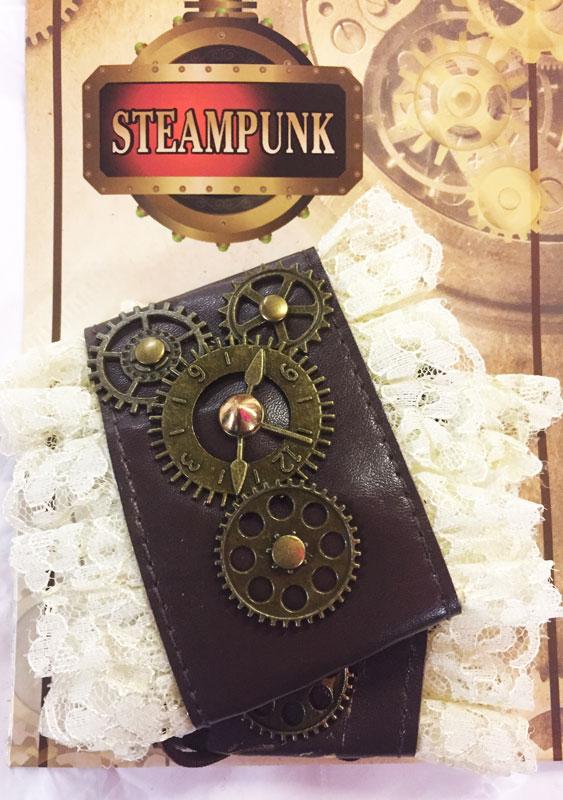 2 bracelets steampunk