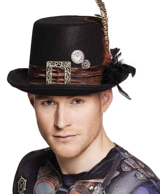 Chapeau haut de forme avec boucle