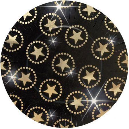 8 Assiettes Star 27 Cm