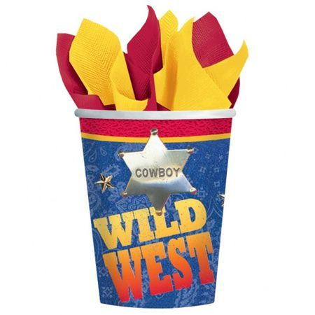 8 Verres Western