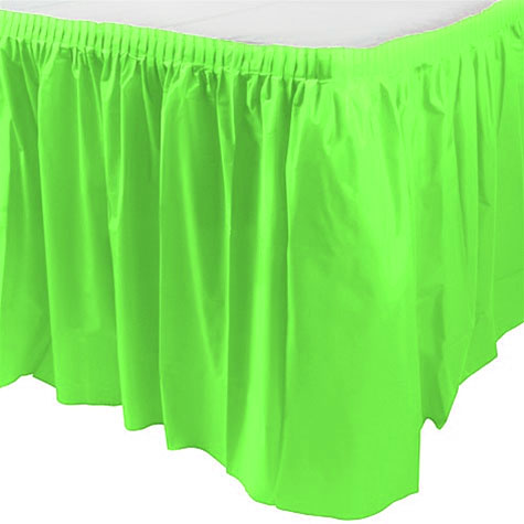 Jupe de Table Vert Anis