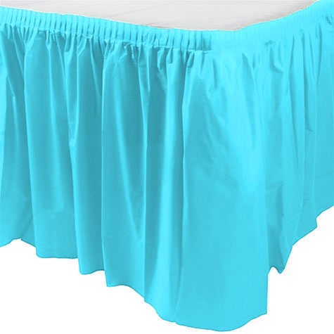 Jupe de Table Turquoise