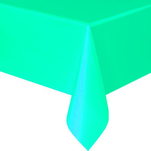 Nappe jetable papier bleu lagon