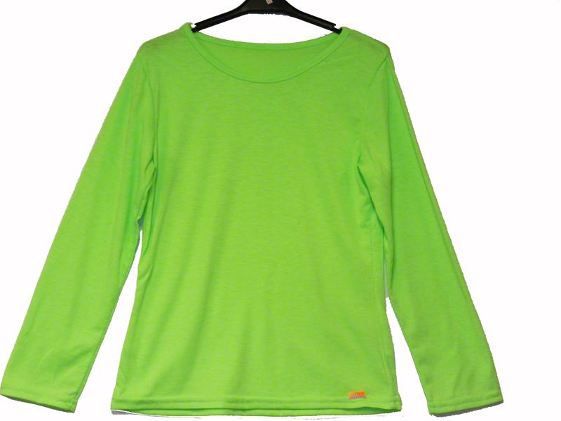 Tee shirt enfant vert fluo
