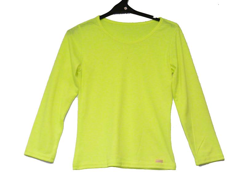 Tee shirt enfant jaune fluo