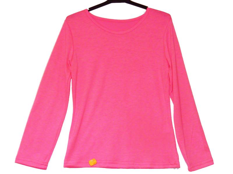 Tee shirt enfant rose fluo
