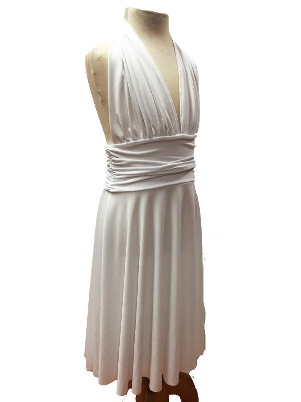 Robe de danse Marilyn enfant blanche