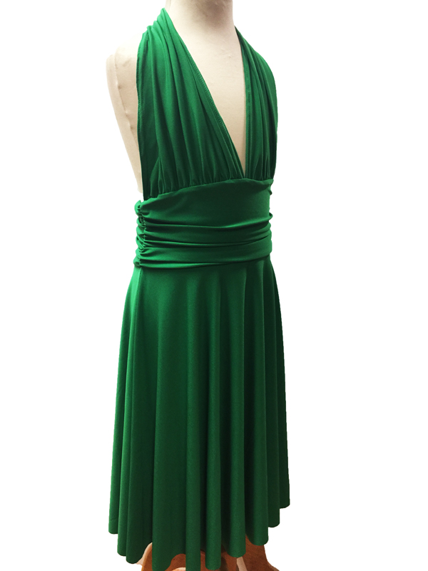 robe de danse Marilyn enfant vert brésil