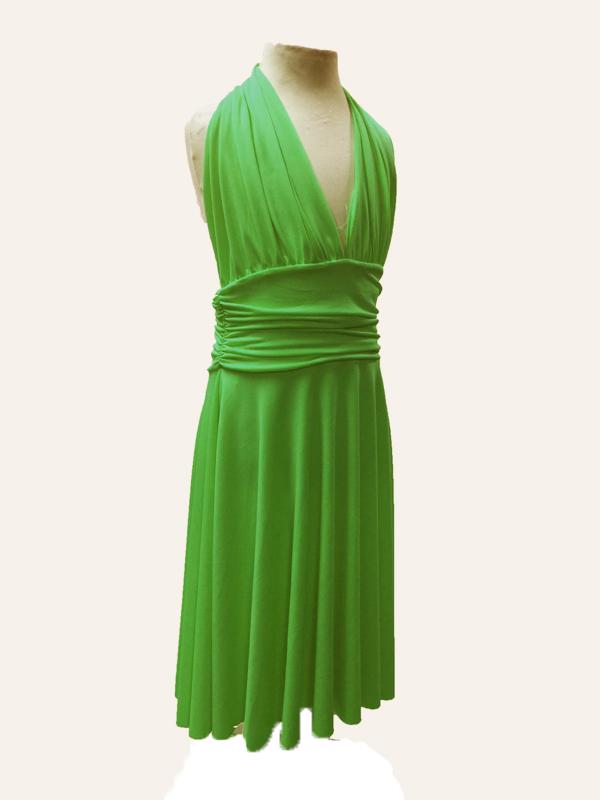Robe de danse Marilyn vert anis