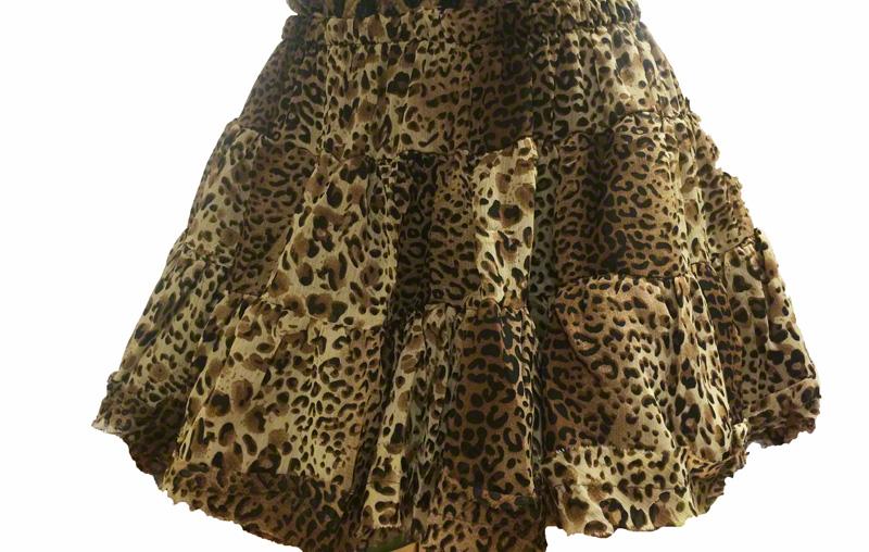 Jupe léopard ou panthère