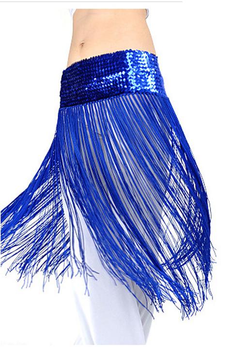 Ceinture à Frange bleu roi