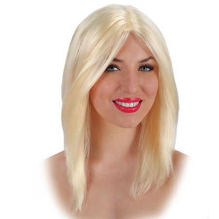 Perruque Lisse Blonde