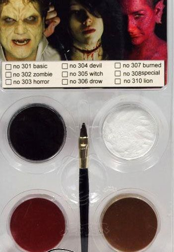 Kit de Maquillage Aquacolor Pour Diable