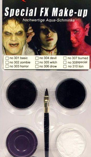 Kit de Maquillage Troll Et Sorcière
