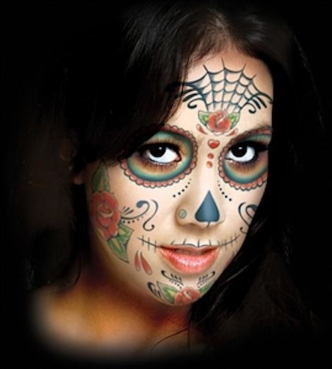 Tatouages jour des morts mexicains
