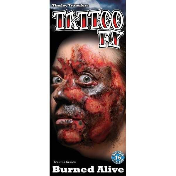 Tatouages brûlures