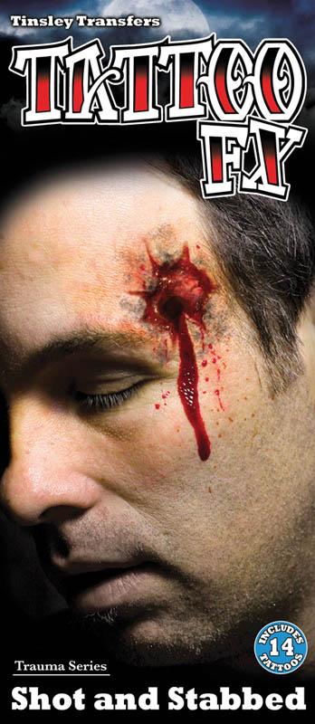 Tatouages impact de balles