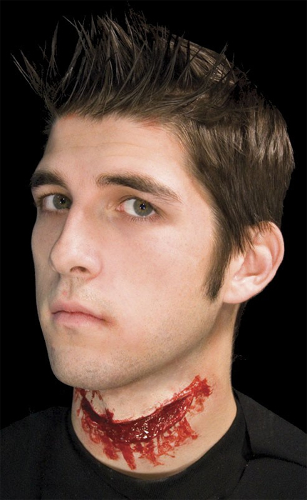Cicatrice gorge ouverte