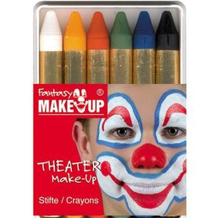 6 Crayons de Maquillage