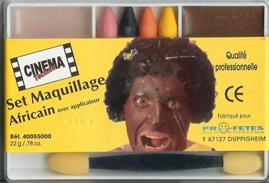 Kit Maquillage Afro Ou Western