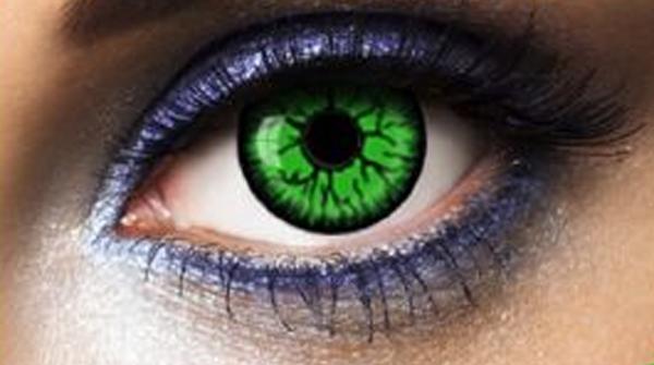 Lentilles de contact Green Shot
