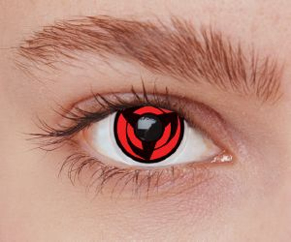 Lentilles de contact Cosplay Sharingan SH-K1 Manga